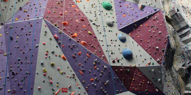 Climbing wall at XC Hemel Hempstead