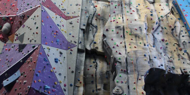 Natural feature climbing wall at XC Hemel Hempstead